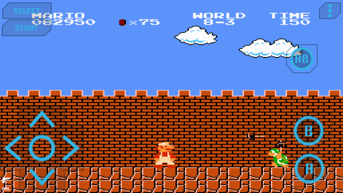install super mario and contra in Android