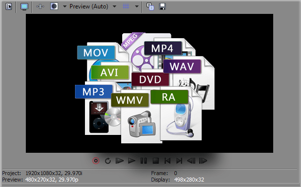 convert your video file to any requested format
