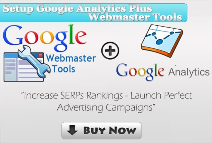 create an account on google webmaster tools