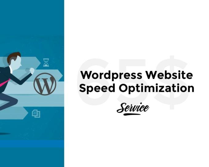 Do wordpress website speed optimization by Pawanyadavlucky