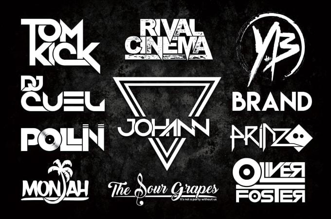 Design Custom Band Music Or Dj Logo By Brand Designss