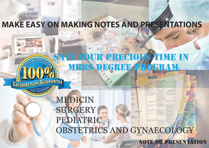 make easy on making MBBS notes and presentations