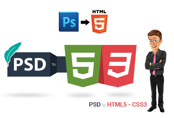 Convert Sketch Xd Psd To Html Wordpress With Responsive By Shahidmian540