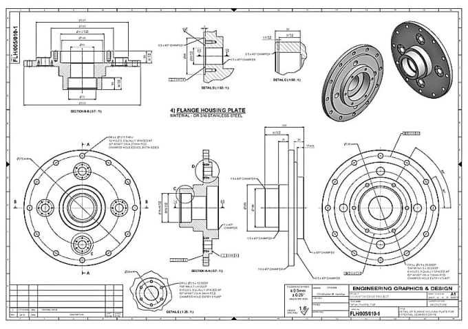 Convert 3d Drawings To Patent Drawings Using Solidworks