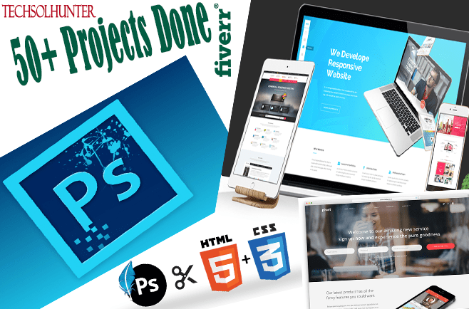 convert your psd to html5,css3 pixel perfect website