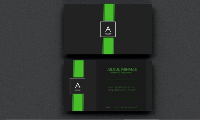 Design a minimalist business card by abdulrehman21 design a minimalist business card colourmoves