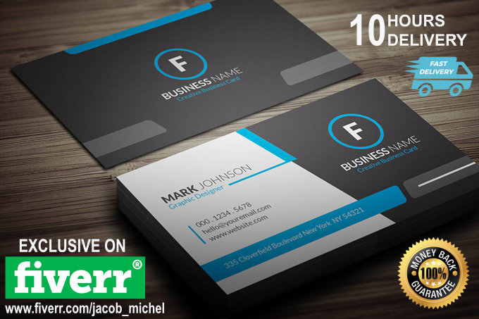Make stylish and professional business card for you by jacobmichael make stylish and professional business card for you reheart Choice Image
