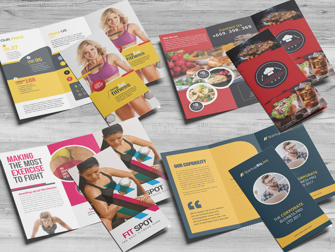 be your creative trifold brochure designer by colorsmotion