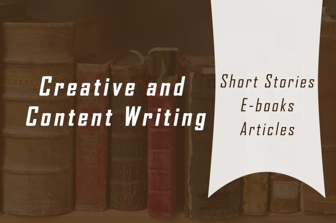 write a short story, ebook or an article