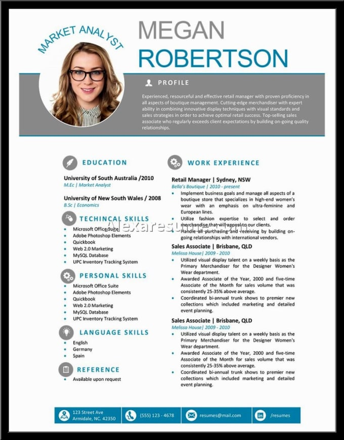 write your resume  cv  cover letter  and linkedin by