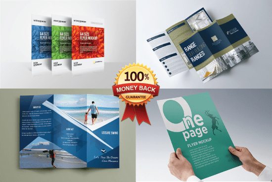 Do Simple Trifold Brochure Banner Flyer Poster
