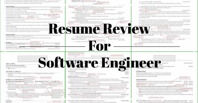 Review Your Software Engineer Resume