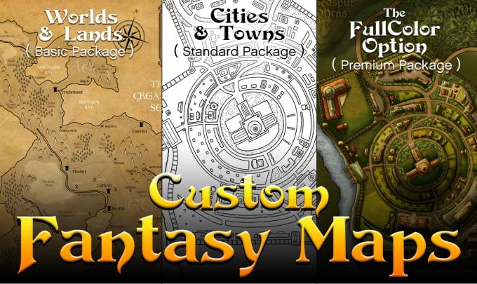 Create Custom Maps For Your Fantasy World Or Book