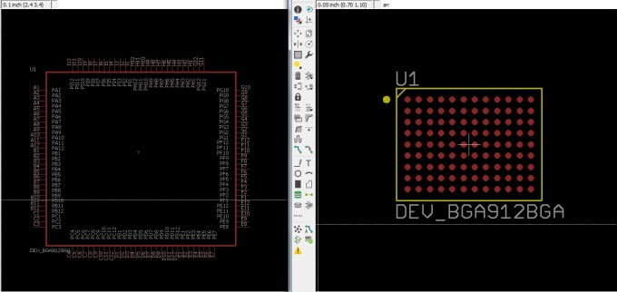 Create any component footprint library in eagle pcb tool by Meamarp