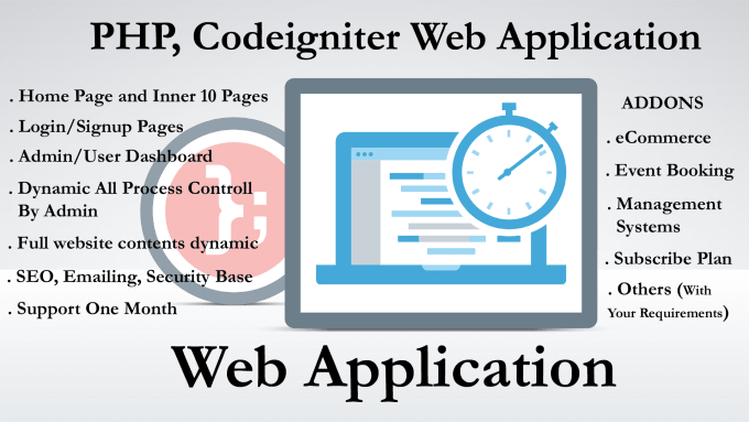 develop your web application