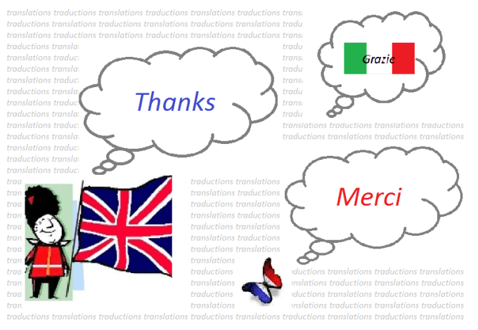 Translations Into Italian: Translate Up To 2000 Words From English Or French Into