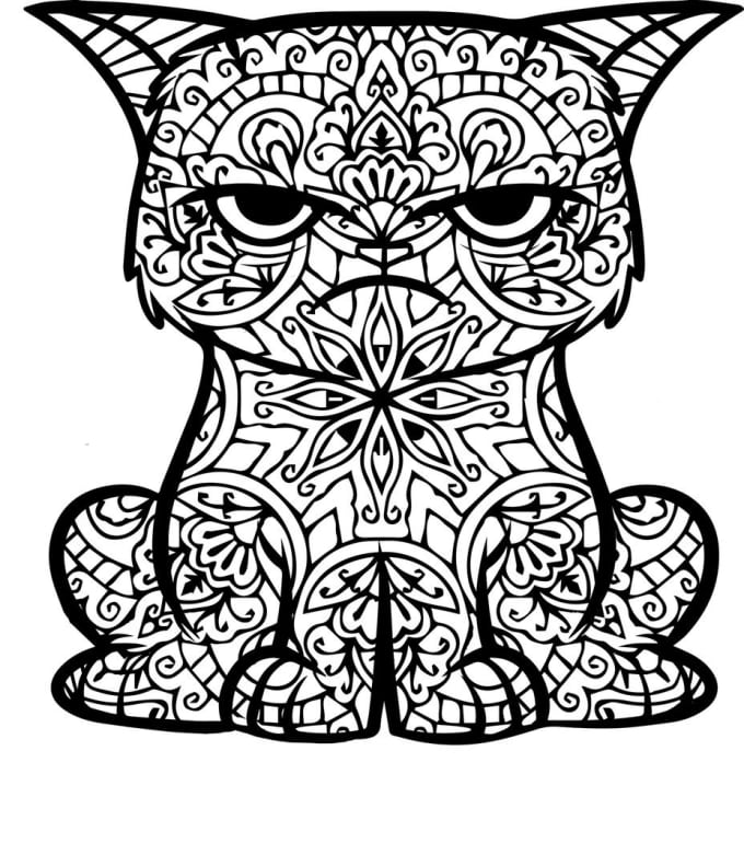 Create coloring book pages by Aktanova
