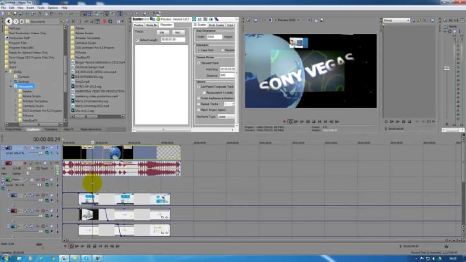 jakechristodoul : I will edit your videos using Sony Vegas pro 14 for $10  on www fiverr com