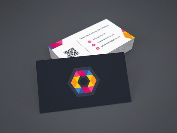 photograph relating to Printable Business Card Paper known as structure a wonderful printable workplace card with emblem design and style
