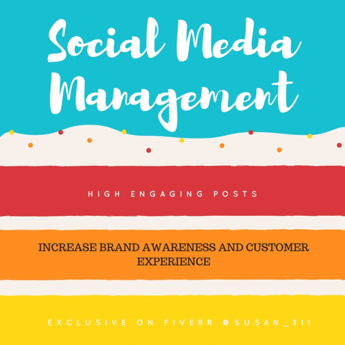 be your social media manager for your business page