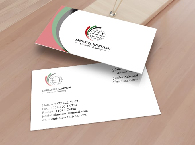 Do business card arabic english by szdesign do business card arabic english colourmoves