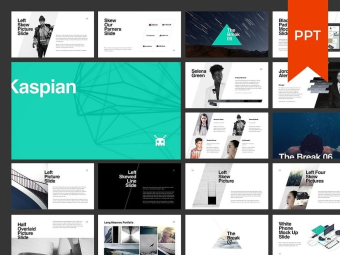 create and design a pro powerpoint template by pro creative00