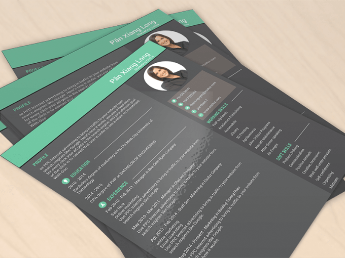 revamp resume  cover letter and linkedin profile