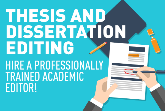 Dissertation Editing Services for Students