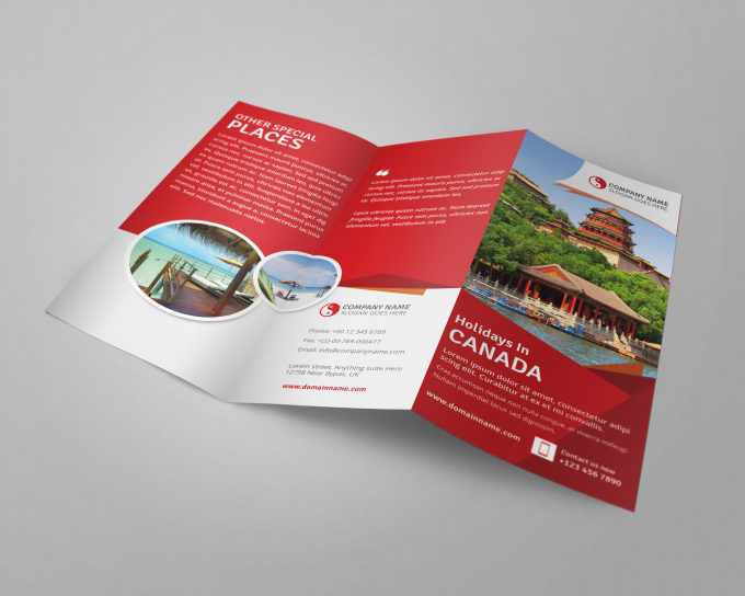 do stunning corporate flyer leaflet brochure handout design by