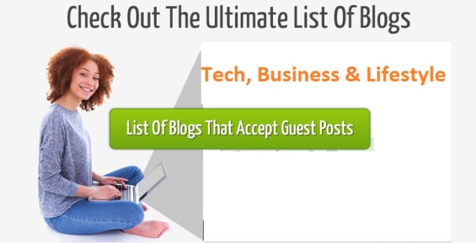 give you a list of blogs for guest post