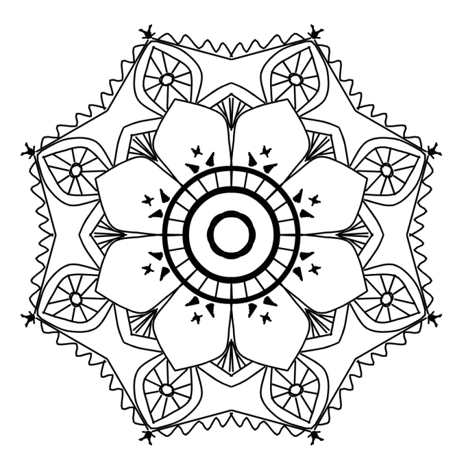 Give You 50 Printable Awesome Mandala Coloring Book Pages