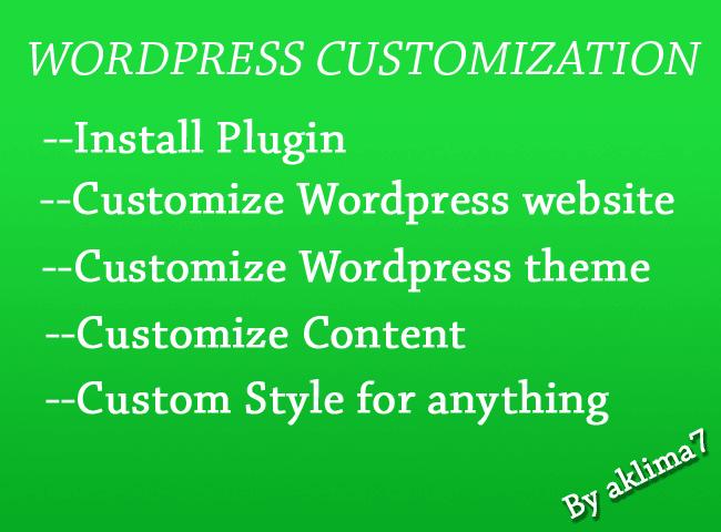 5641742ec Edit design or customize wordpress theme or website by Aklima7