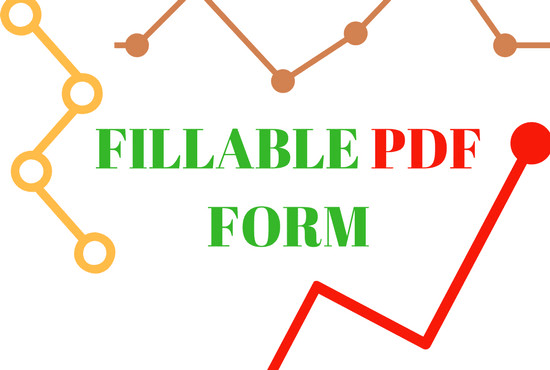 how to create a fillable pdf file in word
