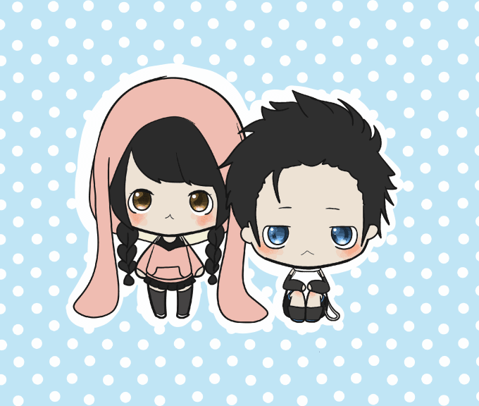 Draw A Very Cute Kawaii Mini Chibis For You By Unconscious98