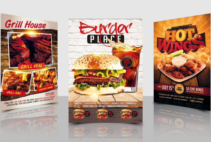 Design Fantabulous Restaurant Flyer By Adeelkhan803