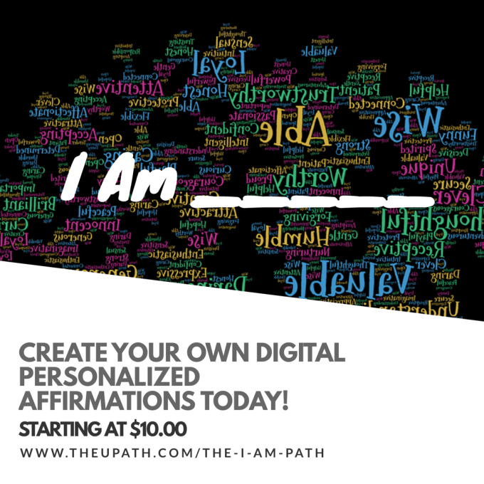 create a digital personalized I AM Affirmation file for you