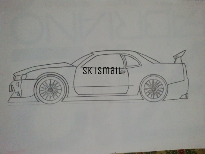 Sketch cars or sketch your car by Skismail04