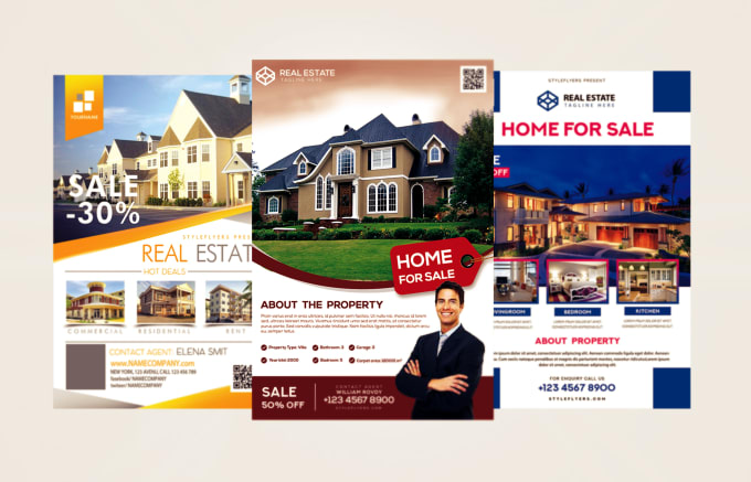 design real estate flyer for you by adeelkhan803