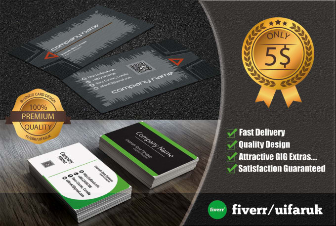 Design business card with bonus stationary by uifaruk design business card with bonus stationary reheart Images