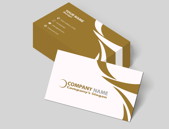 design for you perfect 2 sided business card within 24 hours