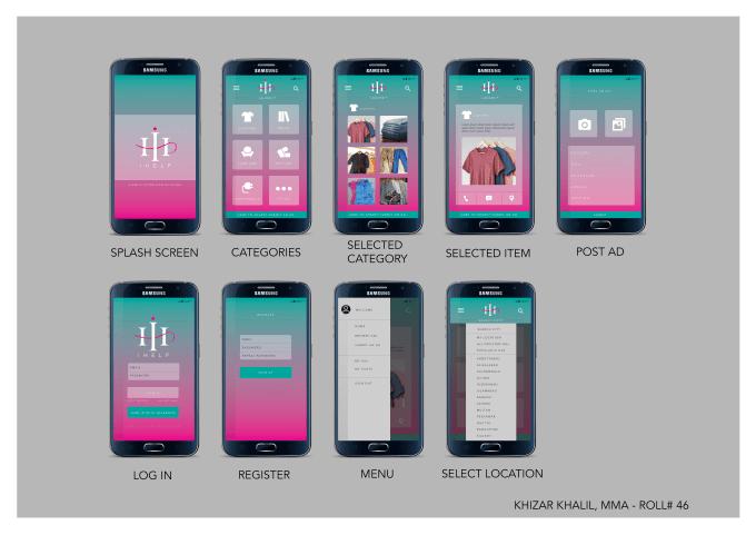 provide professional app UI designs