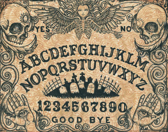 Give You An Honest Accurate Reading Using A Ouija Board