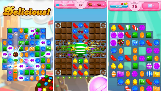 make a candy crush match 3 type game