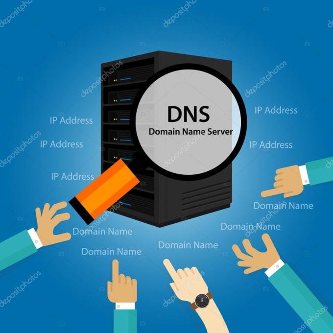 setup dns server for you