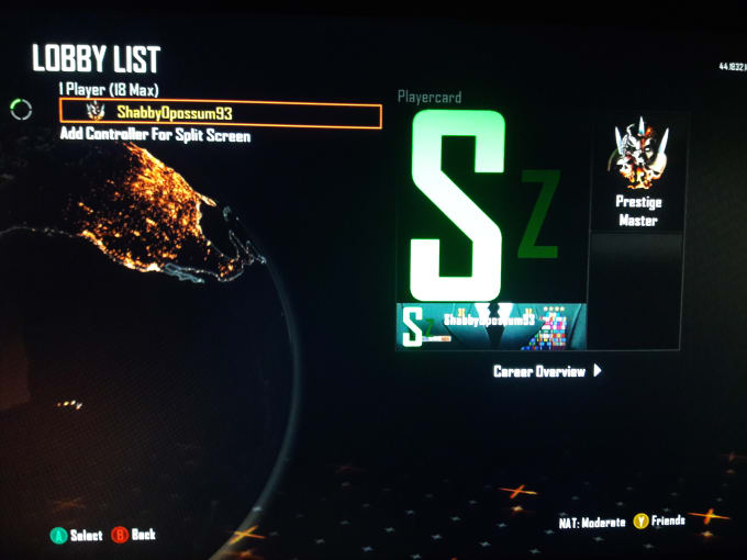 mod your Black Ops II Account Xbox 360 and Xbox One
