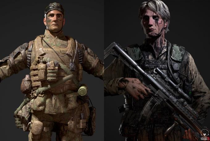 3d character model nextgen