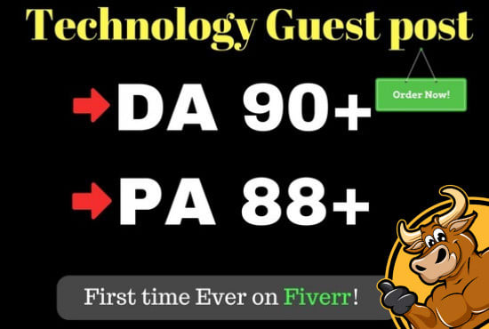 do guest post on high quality technology blog