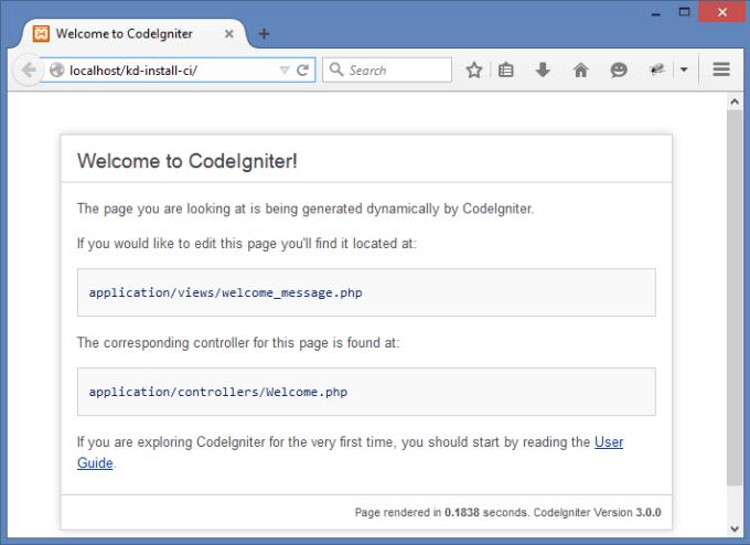 Setup codeigniter template, fix error, html or php error fix by ...