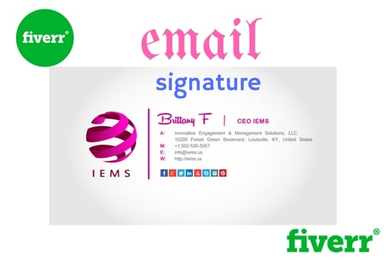 create your email signature