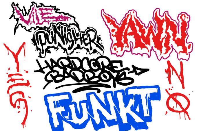make a custom hand drawn logo